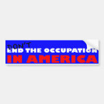 Occupy Wall Street Bumper Stickers