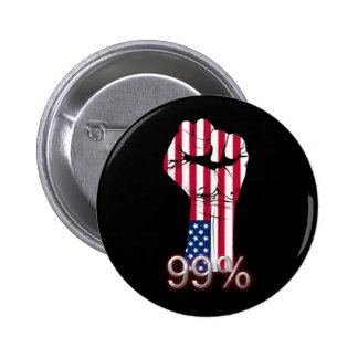 Occupy Wall Street Button We are the 99 %