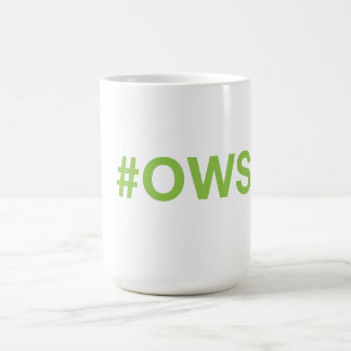 Occupy Wall Street Coffee Mug