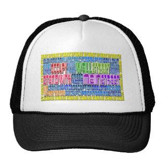 Occupy Wall Street FIGHT Greed Corruption Design Trucker Hat