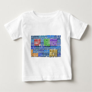Occupy Wall Street FIGHT Greed TALL Design Baby T-Shirt