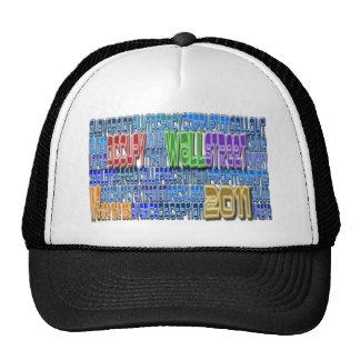 Occupy Wall Street FIGHT Greed TALL Design Trucker Hat