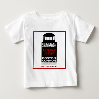Occupy Wall Street General Assembly BOSTON Baby T-Shirt