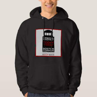 Occupy Wall Street General Assembly BOSTON Hoodie