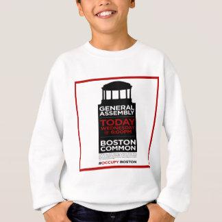 Occupy Wall Street General Assembly BOSTON Sweatshirt