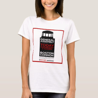 Occupy Wall Street General Assembly BOSTON T-Shirt