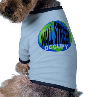 Occupy Wall Street Global Doggie T Shirt