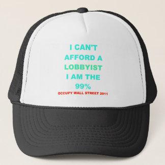 Occupy Wall Street I can't afford a lobbyist Trucker Hat