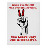 Occupy Wall Street - One Aternative Posters