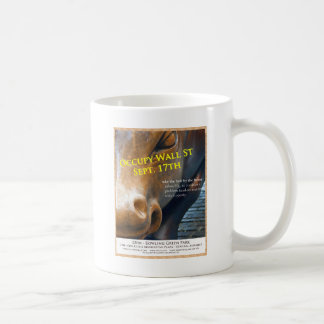 Occupy Wall Street Original Flyer Coffee Mugs