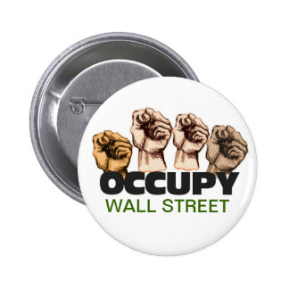 Occupy Wall Street Pinback Button