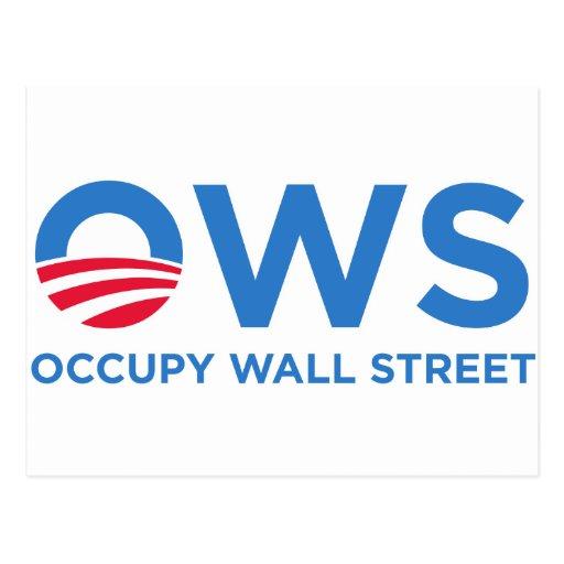 Occupy Wall Street Postcards
