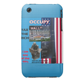 Occupy Wall Street Poster Blackberry Curve Case-Ma iPhone 3 Case-Mate Case
