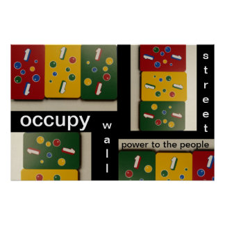 occupy wall street power to the people poster