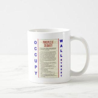 Occupy Wall Street Principles of Solidarity Coffee Mug