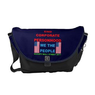 Occupy Wall Street Rickshaw Messenger Bag