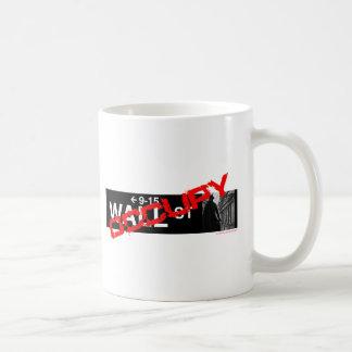 Occupy Wall Street Sign Coffee Mug