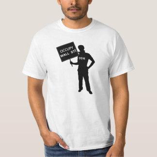 Occupy Wall Street Sign Shirt