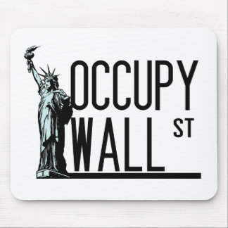 Occupy Wall Street -Statue of Liberty Mouse Pad