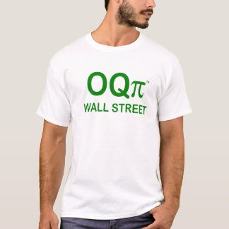 Occupy Wall Street T Shirt - OQpi
