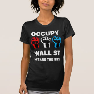occupy wall street t-shirts