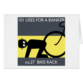 occupy wall street - take your bike! greeting cards