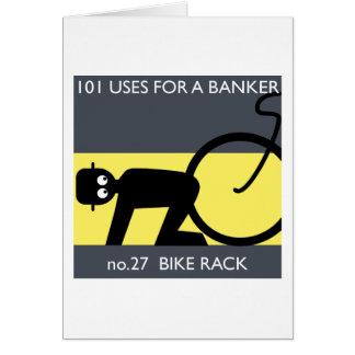 occupy wall street - take your bike! card