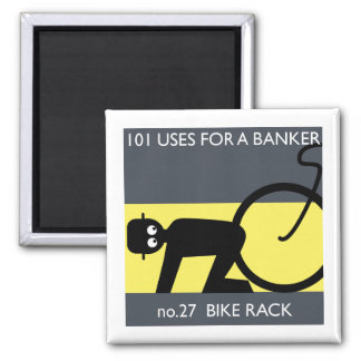 occupy wall street - take your bike! refrigerator magnet