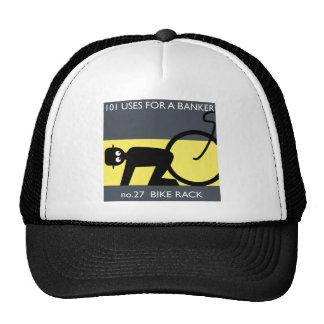 occupy wall street - take your bike! trucker hat
