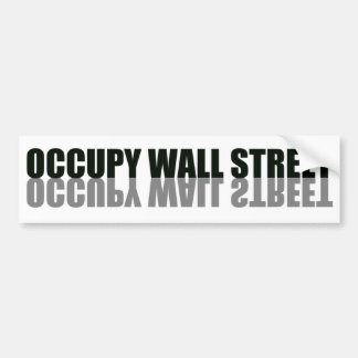Occupy Wall Street Trendy Logo Bumper Sticker