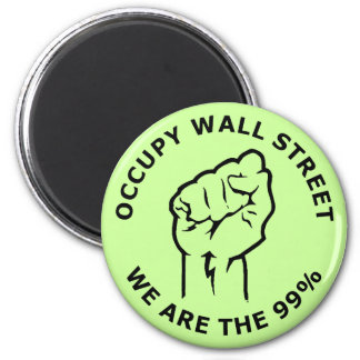 Occupy Wall Street, We Are The 99% Magnet