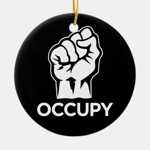Occupy Wall Street - We are the 99% Christmas Tree Ornament