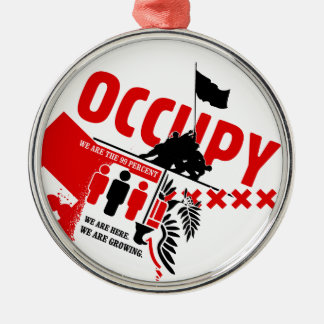 Occupy Wall Street: We are the 99% Christmas Tree Ornament
