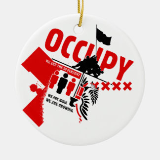 Occupy Wall Street: We are the 99% Christmas Tree Ornaments