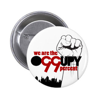 Occupy Wall Street - We are the 99 Percent 2 Inch Round Button