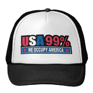 Occupy Wall Street ... We Are The 99% Percent Trucker Hat