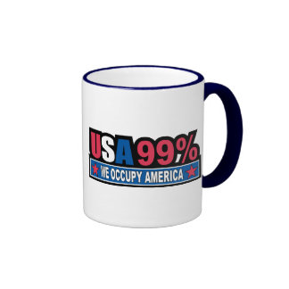 Occupy Wall Street ... We Are The 99% Percent Mug