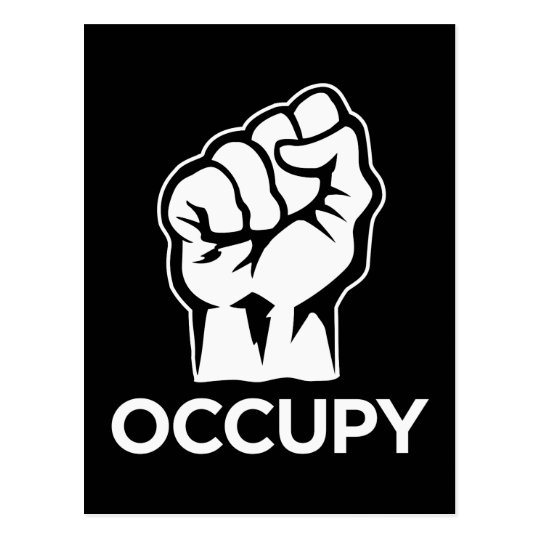 Occupy Wall Street - We are the 99% Postcard