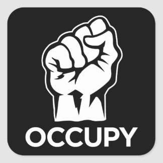 Occupy Wall Street - We are the 99% Square Sticker