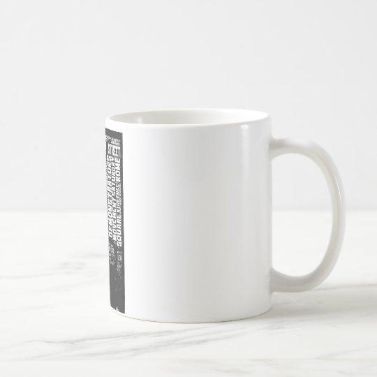 Occupy Wall Street Word Cloud Coffee Mug