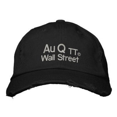 Occupy Wall Street Your Stealthy Embroidered Hat