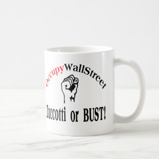 Occupy Wall Street - Zuccotti or BUST! Mugs