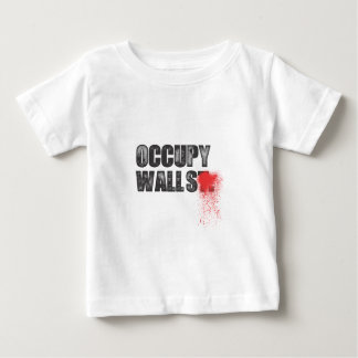 OCCUPY WALLS BABY T-Shirt