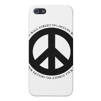 occupy wallstreet cover for iPhone SE/5/5s