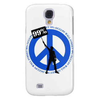 Occupy Wallstreet Galaxy S4 Cover