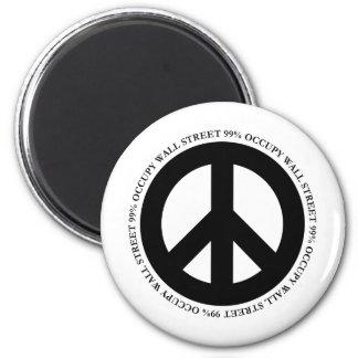 occupy wallstreet magnet