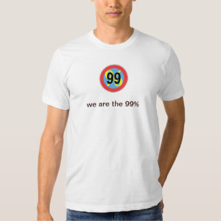 occupy wallstreet - we are the 99% percent playera