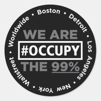 Occupy Wallstreet/Worldwide Sticker