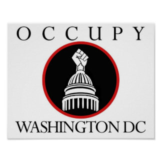 Occupy Washington DC Poster
