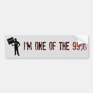 Occupy! We Are The 99% Bumper Sticker